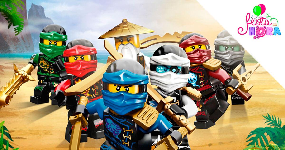 Lego Ninjago, Festa na Hora, Decoração, Artigos para Festas